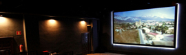 The Museum of the wine Villa-lucia of Laguardia is equipped with 4 d room with Christie E Series