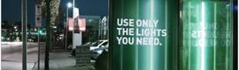 Publicidad dinámica que fomenta el ahorro de energía