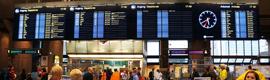 La Estación Central de Oslo estrena el mayor video wall ópticamente mejorado de Europa