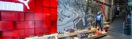Puma apuesta por el concepto interactivo retail 2.0 en su nueva tienda de Barcelona