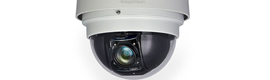 The new camera IndigoVision BX500 PTZ dome provides high resolution images