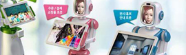 Future Robot idea un kiosco-robot de digital signage