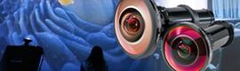 Navitar brinda nuevas lentes de proyección de ojo de pez que crean experiencias envolventes