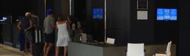El Hotel Meliá Sitges estrena recepción con cartelería digital de Laforja Sistemas