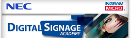 NEC Display Solutions e Ingram Micro organizan la Digital Signage Academy