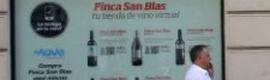 Bodega Finca San Blas instala una tienda virtual en el centro de Valencia
