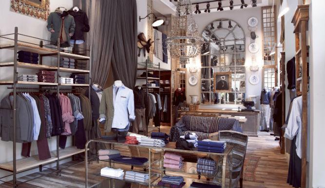 Victorio lucchino incorpora las mesas samsung sur40 a sus for Decoracion de negocios de ropa