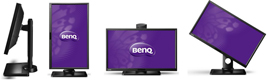 BenQ estrena el monitor LED empresarial BL2410PT con tecnología 'Vertical Alignment'