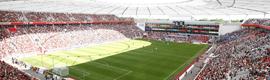 El sistema Panomera mejora la seguridad en el BayArena de Leverkusen y en el Borussia Park de Mönchengladbach