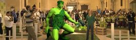 El Gigante Verde en realidad aumentada anima a los niños a comer más verduras