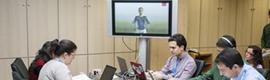 Los autobuses madrileños prueban una tecnología 3D en lengua de signos para mejorar la accesibilidad