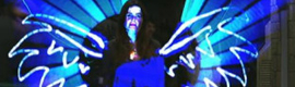 Nuria Roca se convierte en un ángel en 'El Hormiguero' gracias a la 'Light Paint' de Cubensis