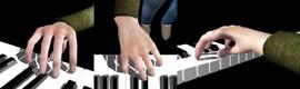 Desarrollan un software que permite ver en 3D conciertos de piano grabados en audio