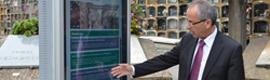 Cementerios de Barcelona habilita un sistema de localización de sepulturas con códigos QR