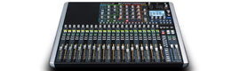 If Performer Soundcraft first digital table that combines audio and full DMX lighting control