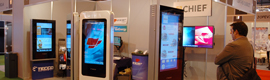 Tecco ha llevado a la Digital Signage World nuevas soluciones para el sector de cartelería digital