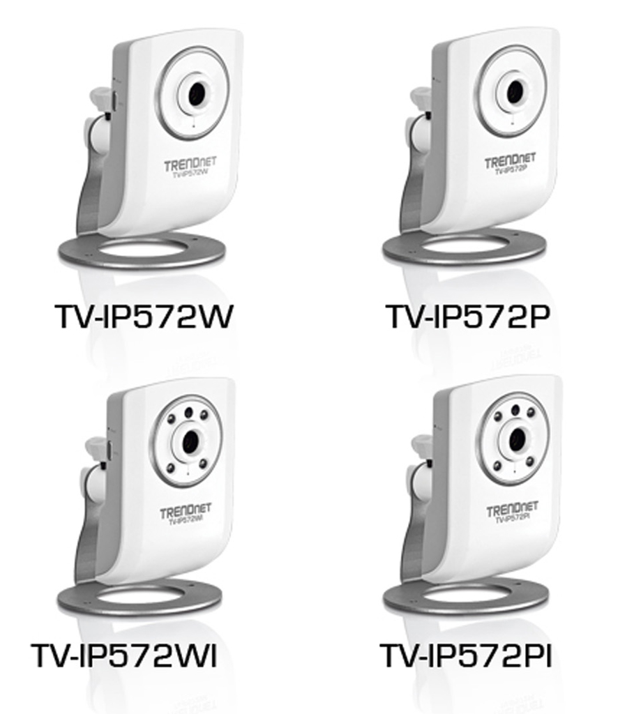 TRENDnet TV-IP572W Internet Camera Drivers for PC
