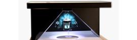 VisualPanel revoluciona el mundo de los escaparates interactivos con Holomagic