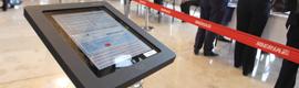 El pedestal para iPad iGesab brilla en el 'Día Oneworld'