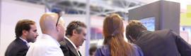 PuntoBilë ofreció sus servicios a miles de personas en la Digital Signage World