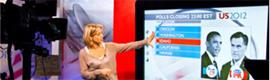 La BBC utiliza un Giant iTab Full-HD de 70″ en su Especial Elecciones de EE.UU. 2012