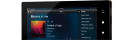 Crestron crea una nueva gama de pantallas táctiles de estilo tablet