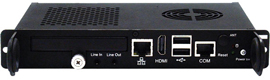 El nuevo reproductor de digital signage OPS NDiS M422 de Nexcom conjuga plug-n-play con rendimiento