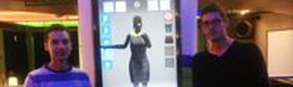 Create a virtual dressing room based on Kinect