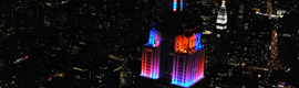 El Empire State estrena iluminación LED de Philips