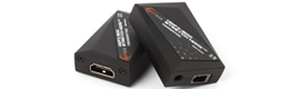 Intronics provides the HDMI Extender on a detachable fiber Opticis HDFX-200-TR