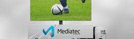 Videoreport y Mediatec presentan una pantalla LED móvil de 56 m2