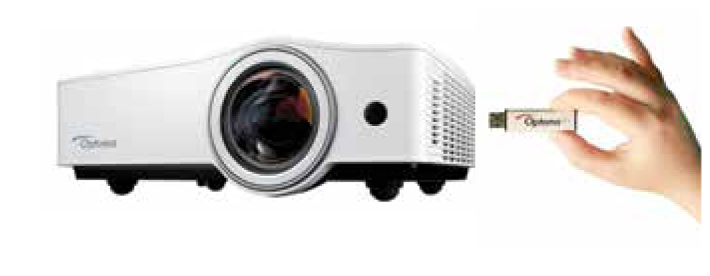 Optoma throws ZW212ST and ZX212ST hybrid projectors with LED