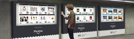 El metro de Barcelona estrena tiendas virtuales