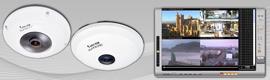 El NVR VioStor de QNAP proporciona una visión de 360 grados con la cámara 'ojo de pez' FE8172V de Vivotek
