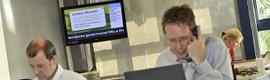 El 45% de las empresas utilizan el digital signage para comunicarse con sus empleados