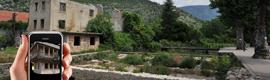 Tecnalia revitaliza áreas de conflicto en Bosnia y Herzegovina mediante el uso de realidad aumentada