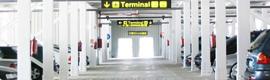 El aeropuerto de Palma instala un sistema de control de accesos, localización de plazas y guiado de vehículos en su párking