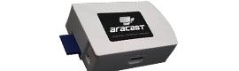 Tecco presenta el reproductor básico para digital signage Aracast Tiny