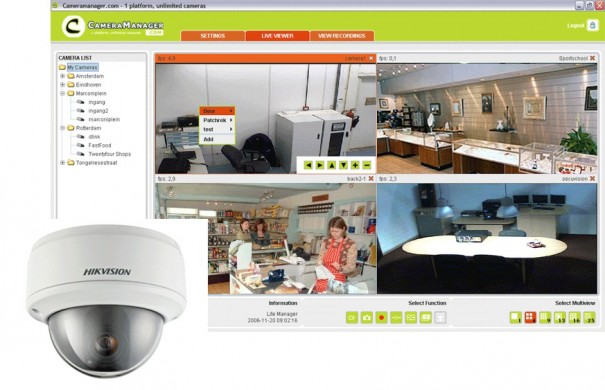CameraManager Hikvision
