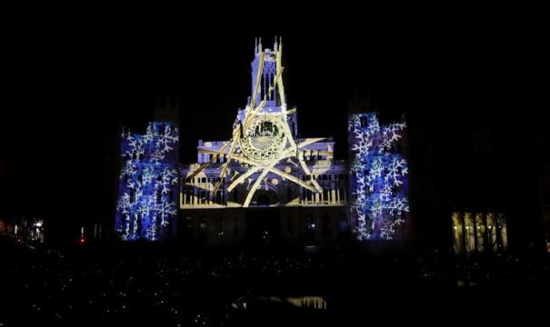 Christmas Ayuntamiento Madrid