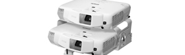 Epson Launches the new projector stackable passive 3D couple EB-W16SK