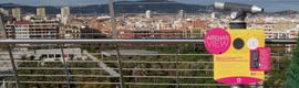El Centro Comercial Las Arenas de Barcelona estrena tres miradores virtuales
