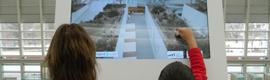 La realidad aumentada permite ver en el MEH de Burgos cómo era Atapuerca