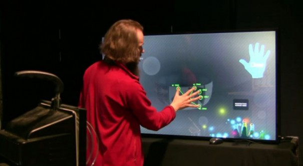 MultiTouch Hybrid Tracking