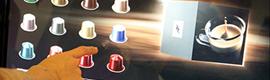 Nespresso pone a disposición de sus clientes una novedosa solución retail multi-táctil