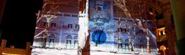 The Projection Studio crea un espectáculo navideño para el hotel Venetian de Las Vegas