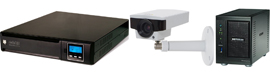 Riello UPS, Axis and Netgear will unite to offer a solution global of video surveillance
