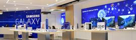 Samsung inaugura en París la primera Samsung Mobile Store con una clara apuesta por el digital signage