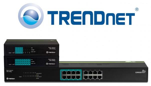 TRENDnet conmutadores PoE+