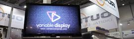 Caldera muestra la nueva solución para cartelería digital Variable Display